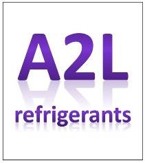 Use of A2L refrigerants increasing