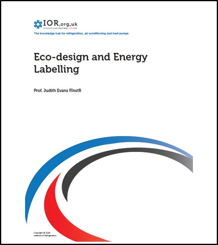 IOR Eco-design and Energy Labelling paper